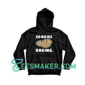 Cookies-Baking-Hoodie-Black