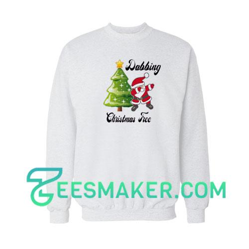 Dabbing--Christmas-Tree-Sweatshirt