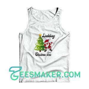 Dabbing--Christmas-Tree-Tank-Top