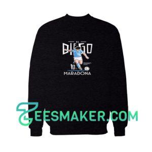 Diego-Maradona-Sweatshirt-Black
