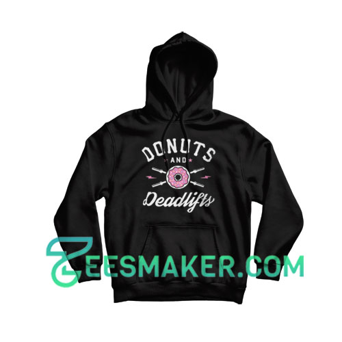 Donuts-And-Deadlifts-Hoodie-Black