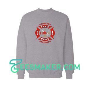 Flavortown-Fire-Sweatshirt-Grey