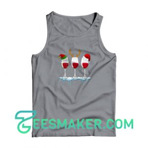 Girl-Loves-Wine-Tank-Top-Grey