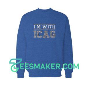 I'm-With-Icag-Sweatshirt-Purple