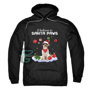 Lagotto-Romagnolo-i-believe-in-Santa-paws-Christmas-Hoodie