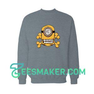 Minion-Skull-Sweatshirt