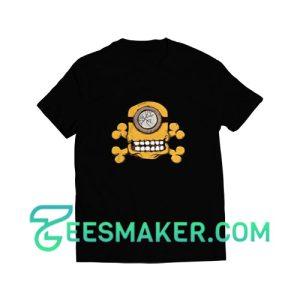 Minion-Skull-T-Shirt--Black