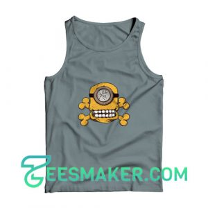 Minion-Skull-Tank-Top