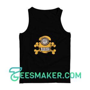 Minion-Skull-Tank-Top-Black