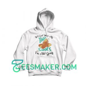 Tap-Dance-Shoes-Hoodie-White