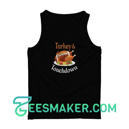 Turkey-Touchdown-Tank-Top