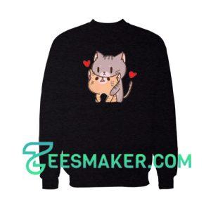 Very-Cute-Cat-Sweatshirt-Black