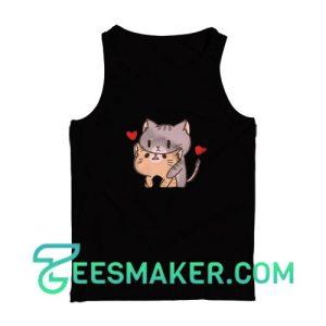 Very-Cute-Cat-Tank-Top-Black