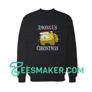 Among-Us-Christmas-Sweatshirt-Black
