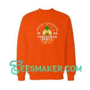 Christmas-Party-Sweatshirt-Orange