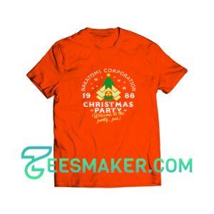 Christmas-Party-T-Shirt-Orange