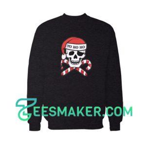 Christmas-Pirate-Sweatshirt-Black