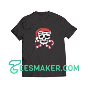 Christmas-Pirate-T-Shirt-Black