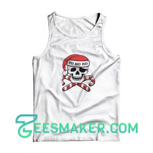 Christmas-Pirate-Tank-Top