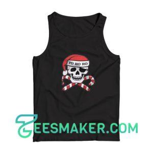Christmas-Pirate-Tank-Top-Black