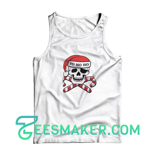 Christmas-Pirate-Tank-Top