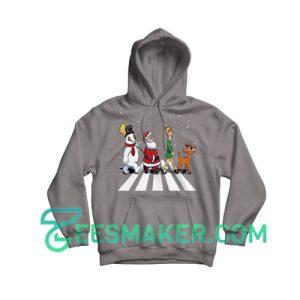Christmas-Road-Hoodie-Grey