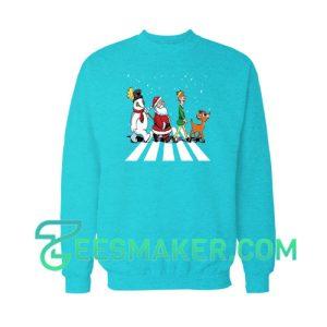 Christmas-Road-Sweatshirt