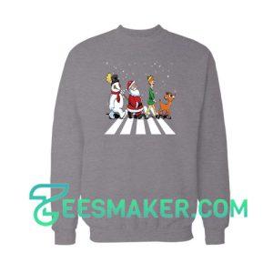 Christmas-Road-Sweatshirt-Black