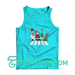 Christmas-Road-Tank-Top