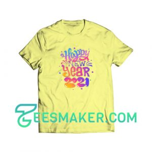 Happy-new-year-2021-T-Shirt-Yellow