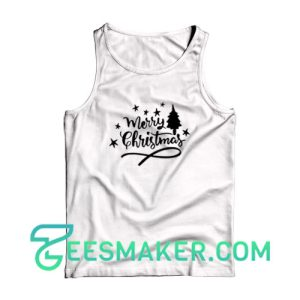 Merry-Christmas-Tank-Top-White
