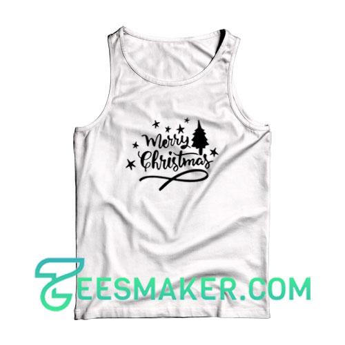 Merry-Christmas-Tank-Top-White