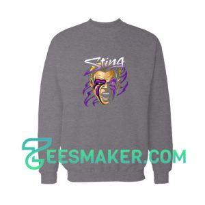 Sting-Aew-Sweatshirt-Grey