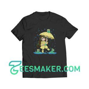 Best-Frog-Girl-T-Shirt-Black