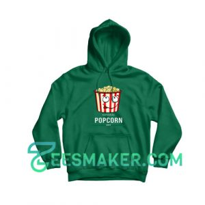 National-popcorn-day-Hoodie-Green