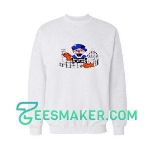 Rockaway's-Playland-Sweatshirt-White
