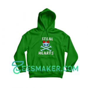 Steal-Hearts-Valentines-Hoodie-Green