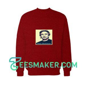 Alan-Rickman-Sweatshirt-Maroon