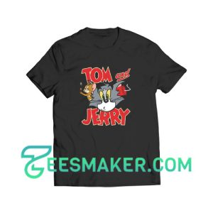 Tom And Jerry Battle T-Shirt