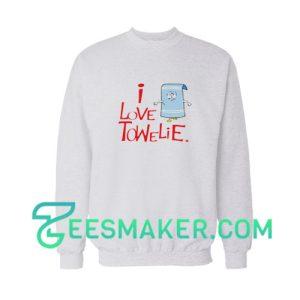 I Love Towelie Sweatshirt