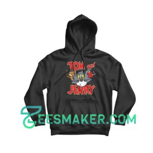 Tom And Jerry Battle Hoodie