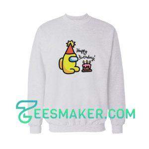 Among Us Happy Birthday Sweatshirt