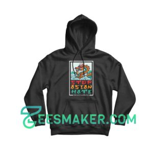 Dragon Stop Asian Hate Hoodie