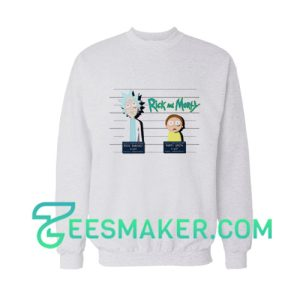 Rick And Morty Mugshot Sweatshirt