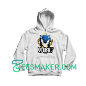 Don't Stop Sonic Hoodie