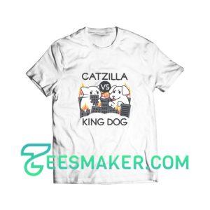 Catzilla Vs King Dog T-Shirt