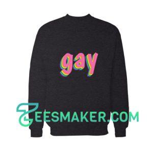 Gay Pride Rainbow Flag Sweatshirt