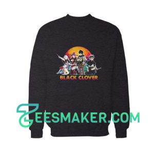 Black Clover Manga Cast Sweatshirt
