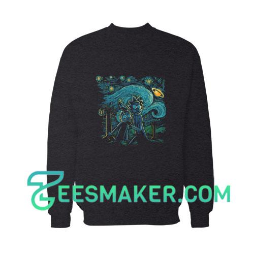 Rick And Morty Art Sweatshirt