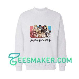 Attack On Titan Friends Sweatshirt